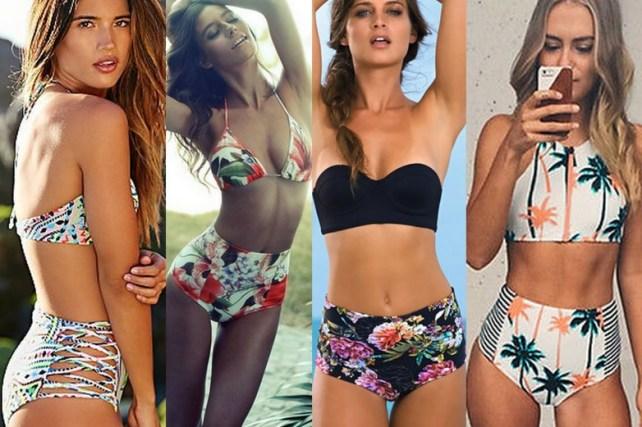Resultado de imagem para moda praia 2017